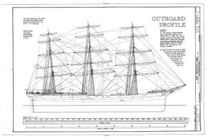 Balclutha ship plan