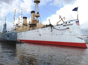 BECUNA and OLYMPIA, Independence Seaport Museum, Philadelphia, Pennsylvania