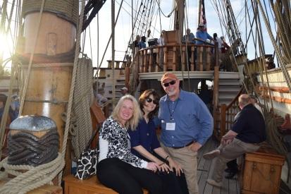 Amy, Marifrances & Greg