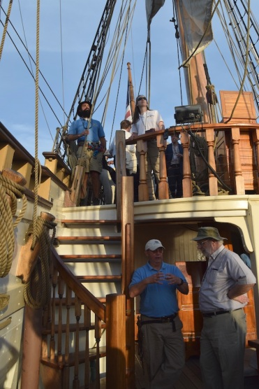 David and crew