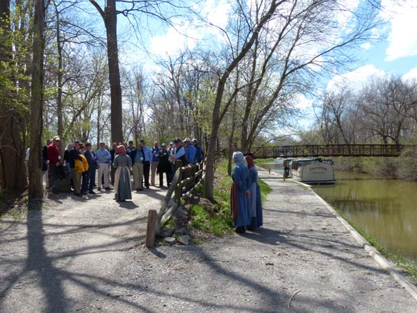 Canal Experience field trip in Grand Rapids, Ohio