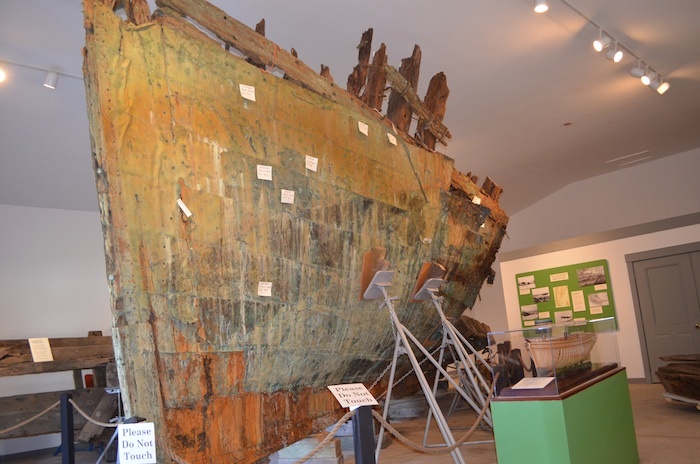 The remains of SNOW SQUALL are currently on display in the Maine Maritime Museum, Bath, Maine