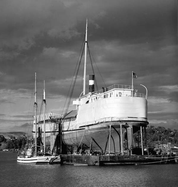 SS WAPAMA in 1988. Photo by Jet Lowe