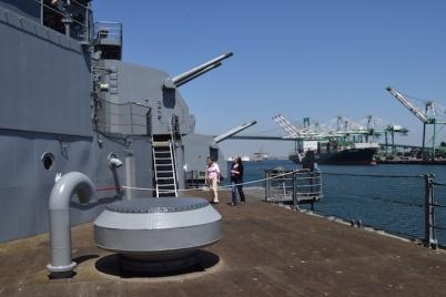 USS Iowa tour