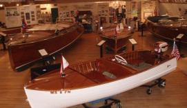 Boats and related items in the museum. (photo NHBM)